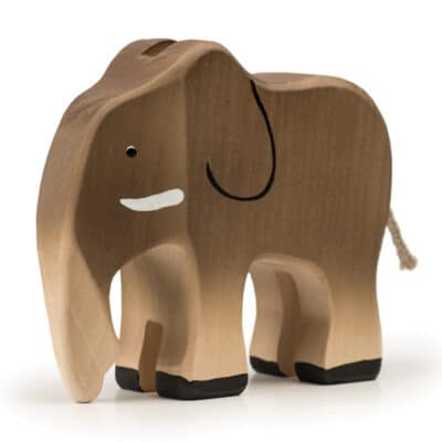 wooden Trauffer Elephant
