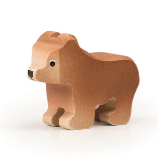 wooden Trauffer Brown Bear
