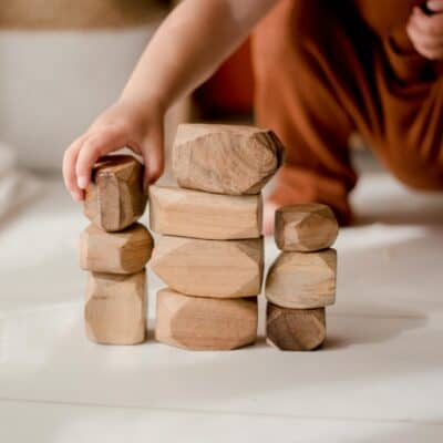wooden gems Child care toys
