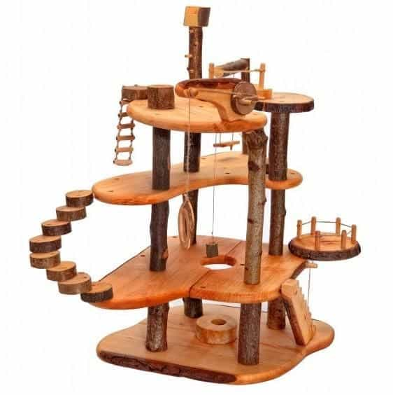 Wooden Treehouse kid play