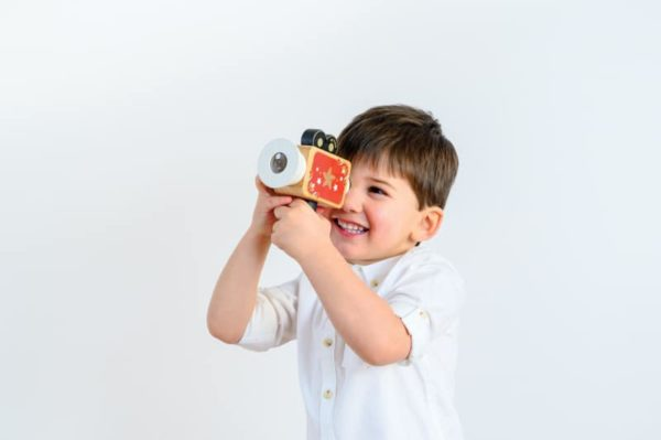hollywood film camera kids play