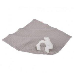 Kikadu Rabbit Teether with Towel