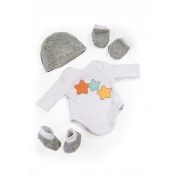 miniland layette body suit