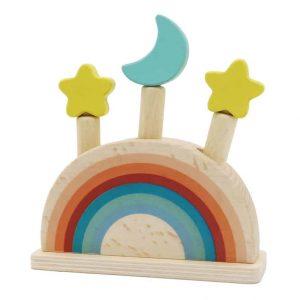 rainbow pop up toy
