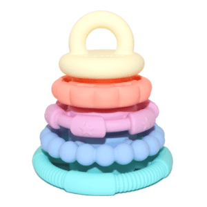 rainbow stacker and teether