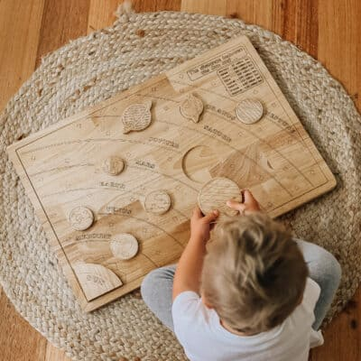 solar system puzzle for toddlers