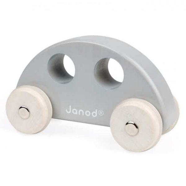 janod wooden grey car