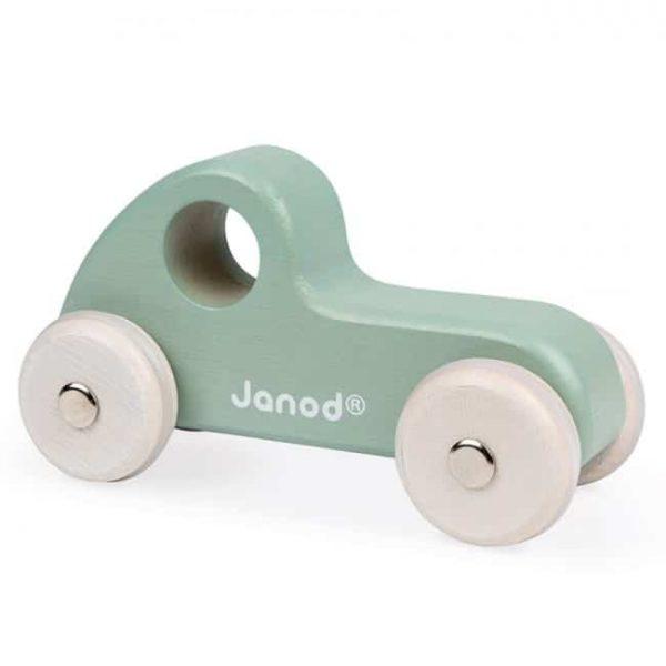janod wooden green truck