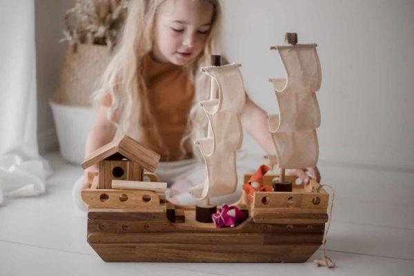 Wooden Pirate Ship Creative Arts
