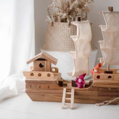 Wooden Pirate Ship Toys Australia