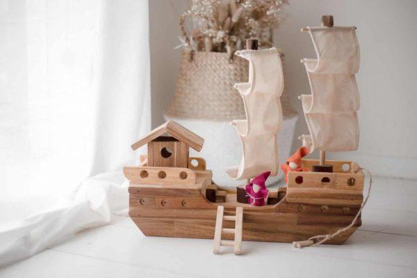 Wooden Pirate Ship Toys Australia