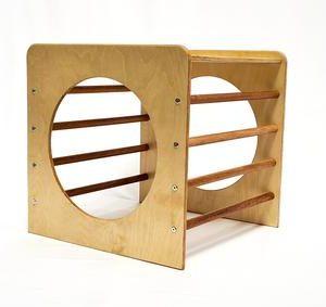 Wooden Outdoor Climbing Cube