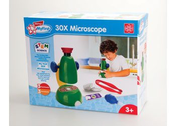 30x microscope educational toy