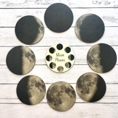 Moon Phase educational learning