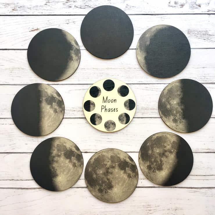 Moon Phase educational learning