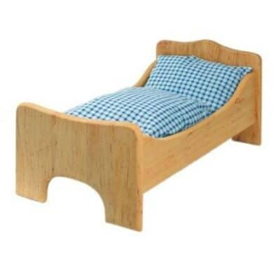 Wooden Dolls Cot Growing Kind