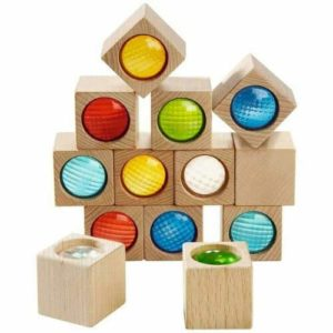 wooden HABA Kaleidoscope Blocks