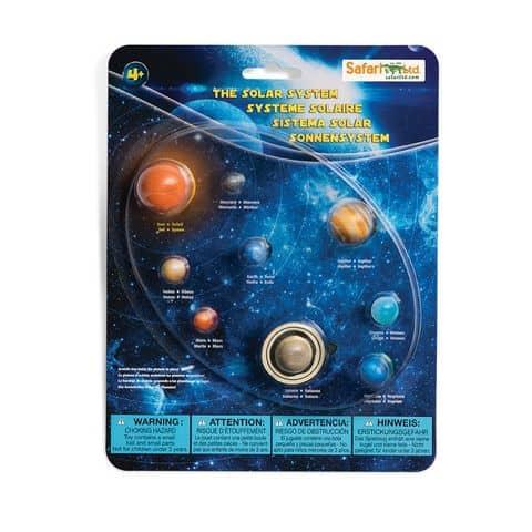 Safari Ltd cycle of Solar System