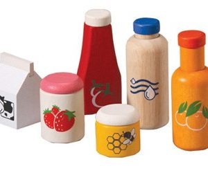food and beverage set child care toys