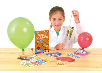 forces lab physics book