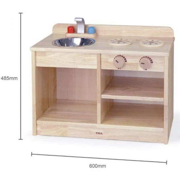 Wooden Montessori Kitchen