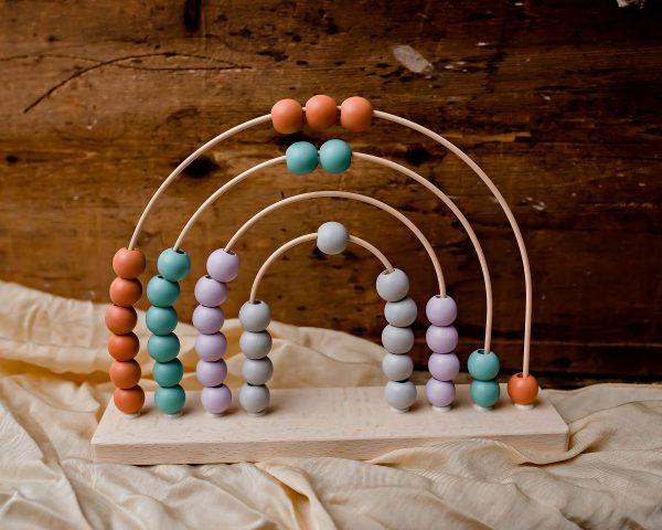 Calm & Breezy Rainbow Abacus