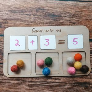 Count with Me Board