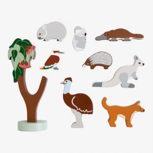 Wooden Animals for kids