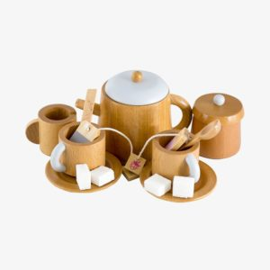 Wooden Toy Tea Set for playing