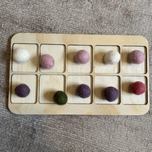 wooden board for playing