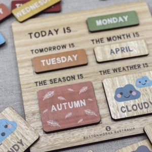 Daily Routine Board by Buttonworks