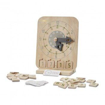 Astrup Wooden Educational Clock Set