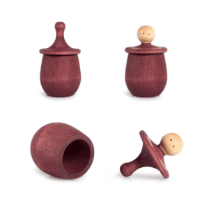 Wooden Grapat Little Things Red