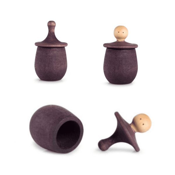 Grapat Wooden Little Things Purple