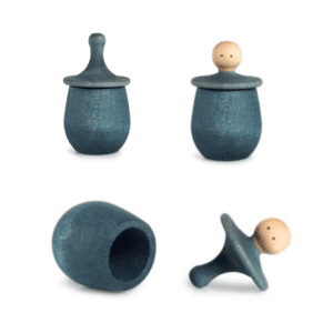 Wooden Grapat Toy Little Things Blue