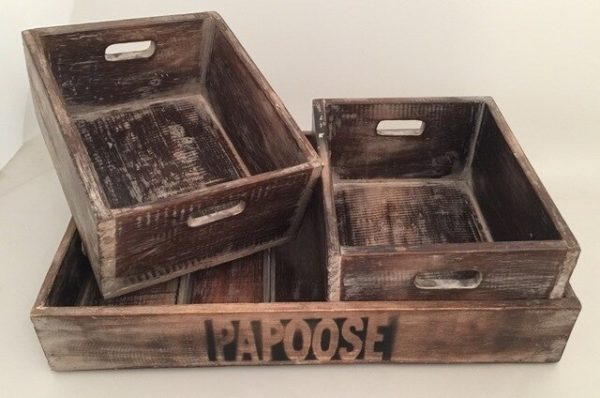 Papoose Tray box